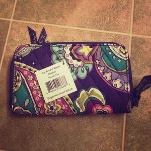 NWT Vera Bradley Zip-Around Wallet
